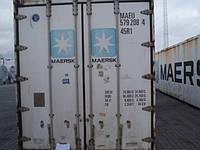 Рефрижераторный контейнер с обогревом 40 футов Hi Cube б/у 1997-1999 гг. CARRIER, рефконтейнер