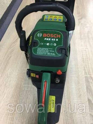 ✔️ Бензопила Bosch PKE 45 S / Румыния / Гарантия, фото 2