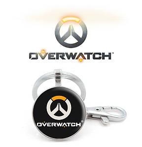 Брелок Overwatch с лого игры