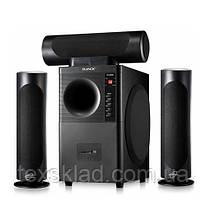 Комплект акустики 3.1 DJACK E-6030 60W (USB/FM-радіо/Bluetooth)
