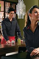 Рубашка официанта бармена мужская TEXSTYLE спортивная черная