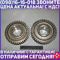 Шестерня 1-передачи вала вторичного ГАЗ 3307-09, 33104 ( 5 ступенчатая КПП, 40зуб.) в сборе (пр-во ГАЗ) 3309-1701108