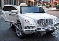 Детский электромобиль Bentley Bentayga JJ2158 белый на пульте, електромобиль Бентли, фото 1