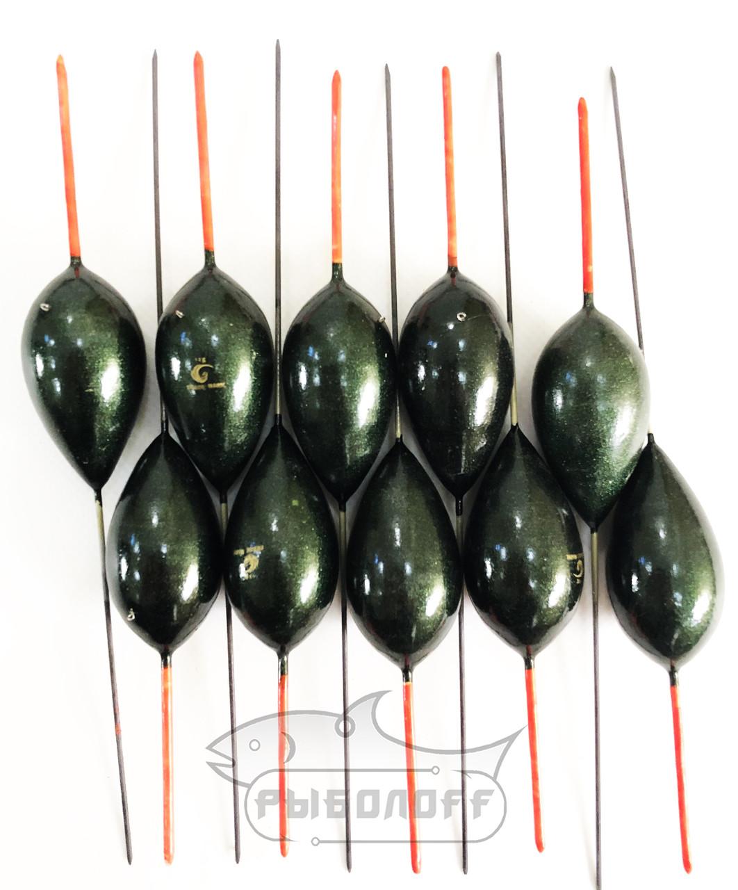 Поплавок Trade Mark 6г тёмно-зеленый