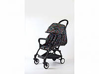 Детская коляска YOYA 175A+ Луи Витон черная рама, фото 1