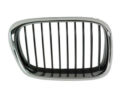 Оригинальная передняя правая решетка радиатора BMW E84 X1, Chrome / Black
