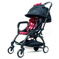 Детская коляска YOYA 175A+ Минни оксфорд черная рама, фото 1