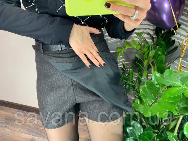 женская юбка-шорты