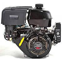 Комбінований двигун LIFAN 190FD (бензин/газ) 15 к. с. з електростартером (шпонка 25 мм)