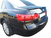 Hyundai Sonata NF (2004-2010) Спойлер крышки багажника на багажник Hyundai Хюндай Sonata NF (2004-2010)