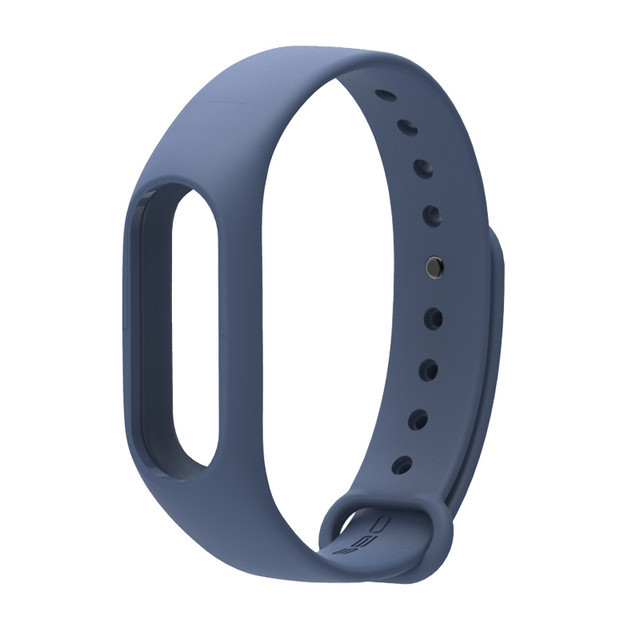 Ремешок TPU для фитнес-браслета Xiaomi Mi Band 2 Dark blue