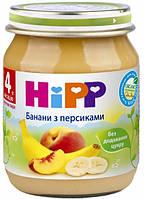 Фруктовое пюре бананы с персиками хипп hipp HIPP