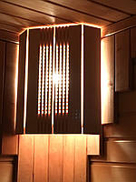 """Ограждение  светильника """"Фрезер"""" для сауны или бани."""