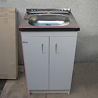 Мойка кухонная 50х50 с тумбой (комплект)