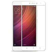 Защитное стекло Silk Screen для Xiaomi Redmi Note 4 тех.пакет (White)
