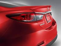 Mazda 6 (2013-) Спойлер крышки багажника на багажник Mazda Мазда 6 (2013-)