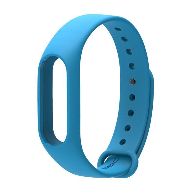 Ремешок TPU для фитнес-браслета Xiaomi Mi Band 2 Light blue