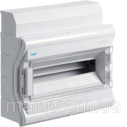Щит распределительный на 18 (20) модулей, с / у с прозрачными дверцами, IP65, VECTOR