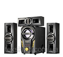 Комплект акустики 3.1 DJACK E-703A 60W (USB/FM-радіо/Bluetooth)