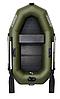 Одноместная гребная надувная лодка Омега (OMEGA) Ω 210 LS с реечной сланью