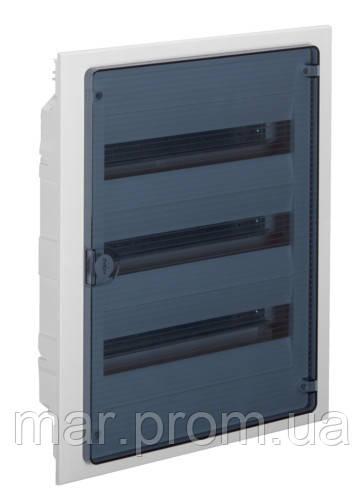 Щит в / в с прозрачными дверцами, 54 мод. (3х18), GOLF
