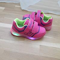 Кросівки дитячі з LED підсвіткою. Тільки 26,27,28,29 розміри!