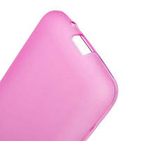Накладка Samsung G313 Силикон розовая, фото 3