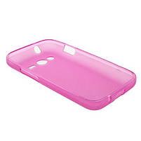 Накладка Samsung G313 Силикон розовая, фото 4