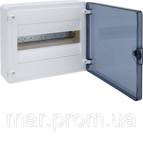 Щит с / у с прозрачными дверцами, 12 мод. (1х12), GOLF