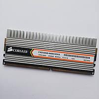 Игровая оперативная память Corsair DDR2 2Gb 800 MHz PC2 6400U CL5 (CM2X2048-6400C5DHX) Б/У, фото 1