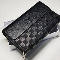 928527fad23e Мужской Клатч Louis Vuitton Черный — Купить Недорого у Проверенных ...