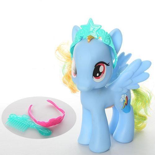 Игровая фигурка My little pony с подсветкой, голубая 63831-4-6