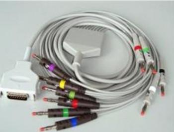 Кабель на 10 электродов на электрокардиографы EK41, EK53, EK56, EK51, EK512
