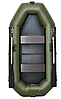Двухместная гребная надувная лодка Омега (Omega) 250 LS(PS) подвижное сидение, слань