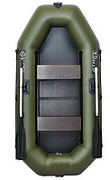 Двухместная гребная надувная лодка Омега (Omega) 250 LS(PS) подвижное сидение, слань, фото 1