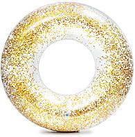 Надувной круг с блестками Intex 56274