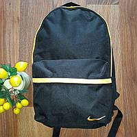 Рюкзак.спортивный Nike черный плотная брезентовая ткань