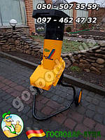 Измельчитель веток для сада 2,2 кВт, дробилка садовая  Fleurelle Biolux gs2200 б/у из Германии