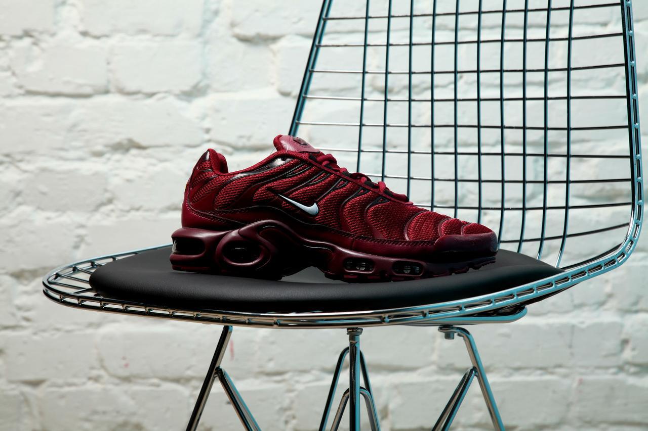Мужские кроссовки Nike Air Max Tn + Team Red/ White-Black