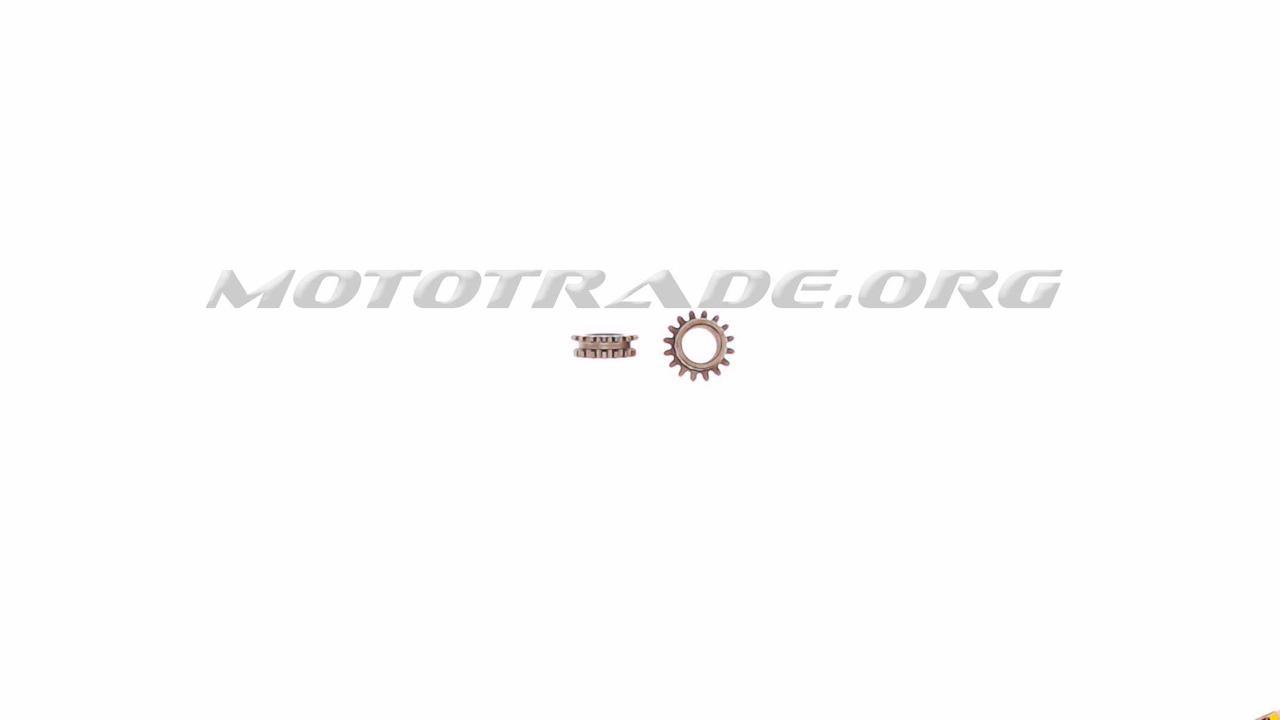 Звезды привода на коленвал (пара)   4T GY6 50   KOMATCU   (mod.A), шт