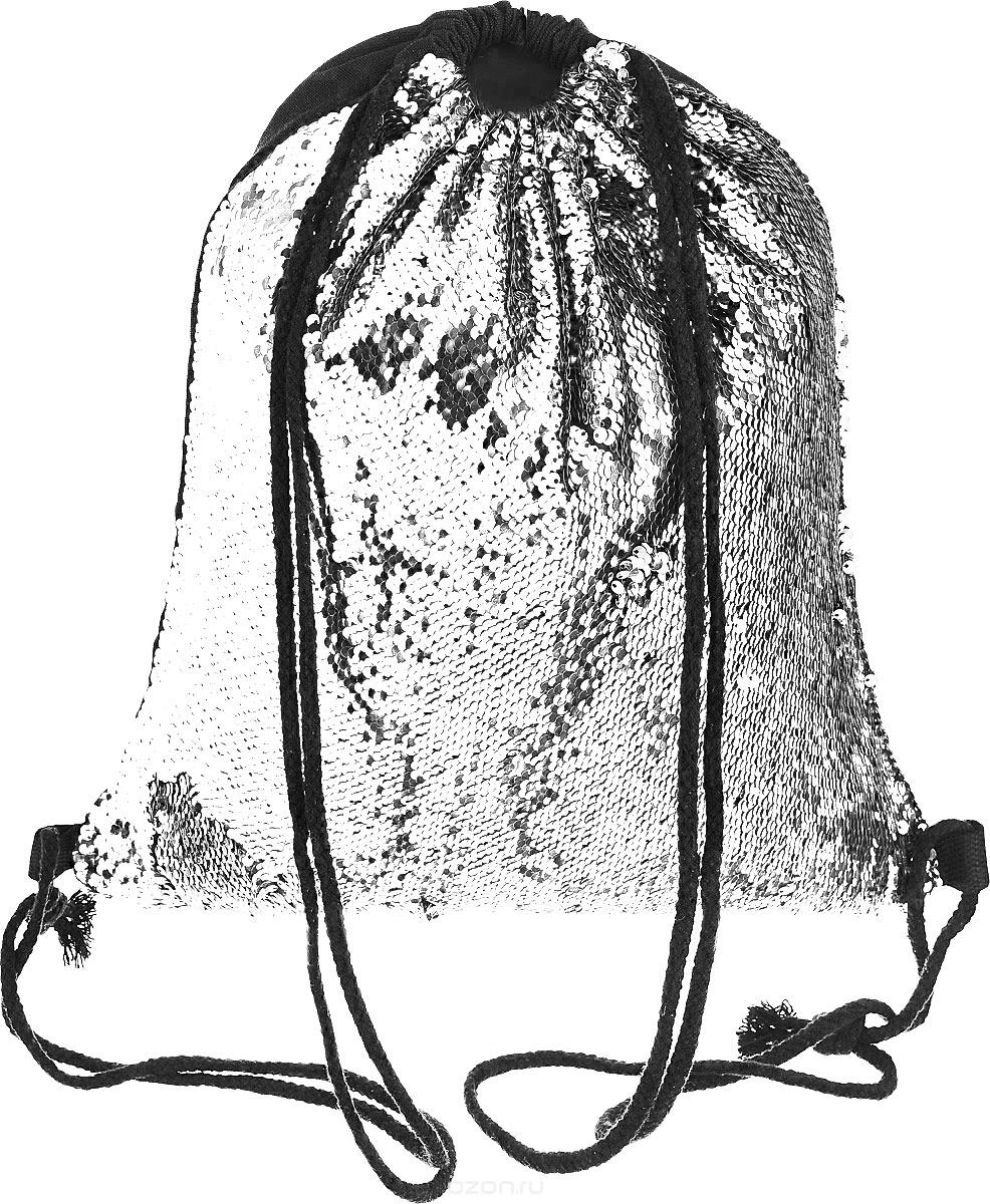 Рюкзак с пайетками подсублимацию БЕЛЫЙ
