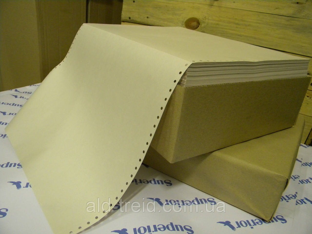 Перфорированная бумага ЛПФ 45г/м2-210 Eco-D *при заказе от 2500грн.