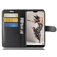 Чехол-книжка Litchie Wallet для Huawei P20 Черный
