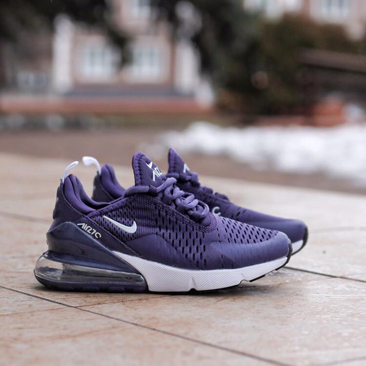 Жіночі кросівки Air Max 270 Violet, Репліка