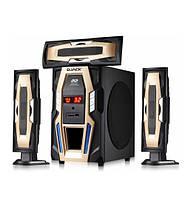 Комплект акустики 3.1 DJACK E-E3L 60W (USB/FM-радіо/Bluetooth)
