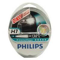 Автолампы Philips H7 12972XV+S2 X-treme Vision +130% Blister (2шт.)