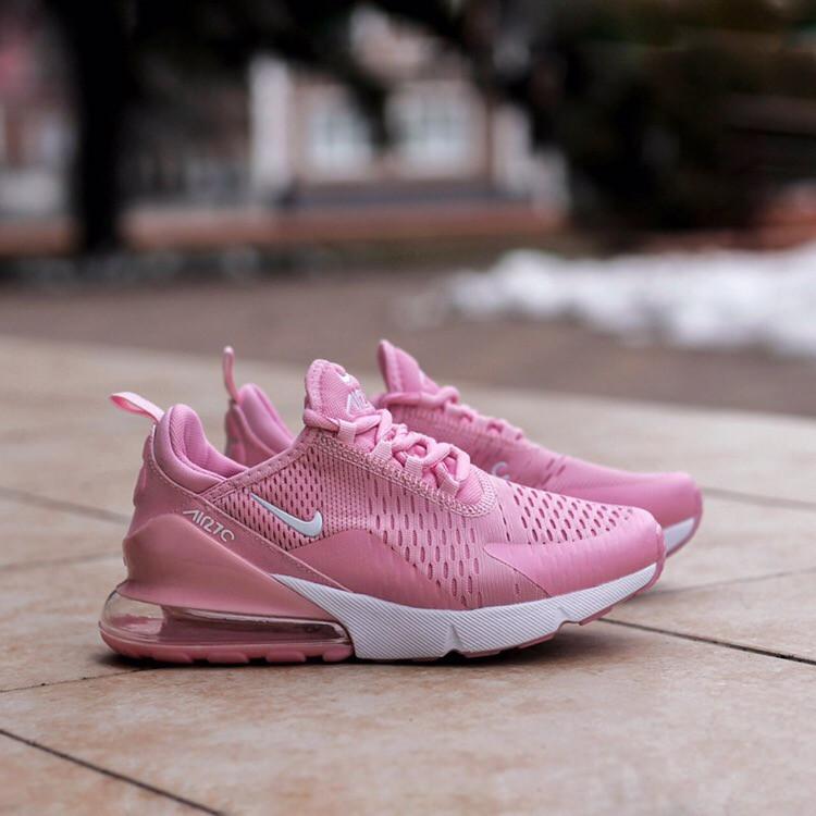 Женские кроссовки Air Max 270 Pink, Реплика