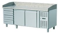 Стол холодильный FROSTY THPZ 2610TN для пиццы с кассетницей
