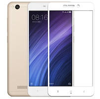Защитное стекло Xiaomi Redmi 3 / 3S Full Cover Rinco (White)