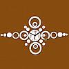 """Настенные 3D часы с зеркальным эффектом """"Круги"""", фото 5"""